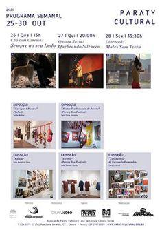 Fique por dentro do que acontece nessa semana, na Casa da Cultura Paraty Cultural!  Compartilhe Cultura!  #CasaDaCultura #CasaDaCulturaParaty #exposição #fotografia #música #cultura #turismo #arte #cinema #VisiteParaty #TurismoParaty #Paraty #PousadaDoCareca #ParatyCultural #PartiuBrasil #MTur #boatarde #boatardee #bomdia #boanoite #QuintaJusta