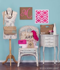"""Add these stylish monograms for a look that's """"so you""""!"""