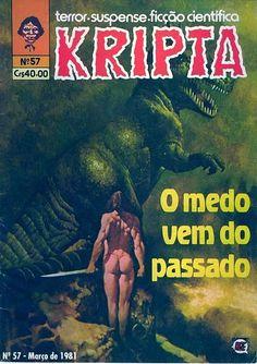 Revista Kripta #57 - RGE (1976) - Quadrinhos de terror, suspense, ficção e sobrenatural