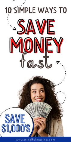 How to save money each month — 10 clever ways (even if you have no money and it feels impossible). These frugal living tips (and budget tips) will help you save thousands of dollars each month. Saving money doesn't have to be hard. #frugalliving #savingmoney Ways To Save Money, Money Saving Tips, Cookie Cutter House, Money Cant Buy Happiness, Admit One, Create A Budget, Get Out Of Debt, Frugal Living Tips, How To Get