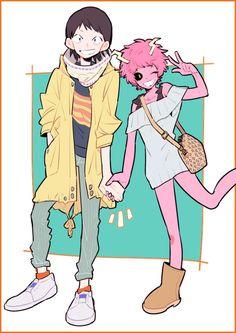Sero Hanta & Ashido Mina