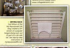 My Repurposed Life™: Repurposed Cribs (parts)