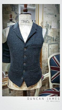 Autumn/Winter 15 Tweed waistcoats by Remus Uomo Tweed Waistcoat, Tweed Suits, Duncan James, Tweed Run, Fall Winter, Autumn, Suit Vest, Gentleman, Menswear