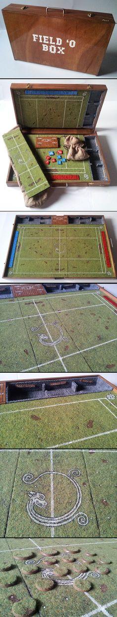 Blood Bowl Portable Field - Dwarf Themed