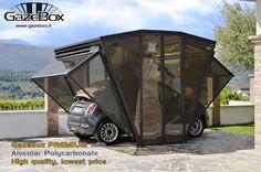 GazeBox: O novo conceito de garagem, Cobertura de Carro e Tenda