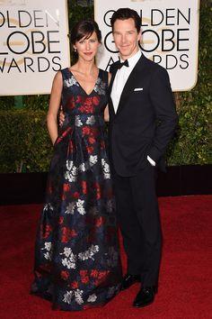 Golden Globe Couples 2015: Sophie Turner and Benedict Cumberbatch