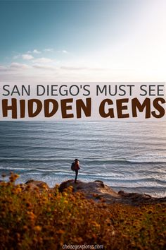Planning a trip to San Diego, California? I've covered 5 areas highlighting some of the hidden gems and best local spots in San Diego for you to consider.   things to do in San Diego in spring   Scenic views in San Diego   Best things to do in Southern California   san diego sunset cliffs   explore San Diego   visit SD   california   ocean   cliffs   san diego travel   san diego itinerary   travel itinerary   things to do in San Diego in spring   Scenic views in San Diego   Top Travel Destinations, Us Travel, California Travel, Southern California, Visit San Diego, Vacations In The Us, San Diego Travel, Road Trip Hacks, Worldwide Travel