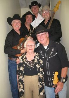 The Westbank Opry band with a great friend