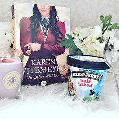 #fullybookedjune16 Day 18: Book & Ice Cream  A summer sunset, a great book and Ben & Jerry's is a great combination! My current read is No Other Will Do by Karen Witemeyer, a fun, quick historical mystery/romance. She has become one of my favorite authors and I'm enjoying her latest release!  #fullybookedjune16 #junebookchallenge #karenwitemeyer #icecream #benandjerrys #bookstagram #summerreading