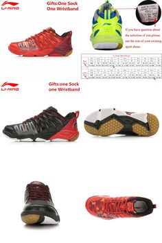 new arrival 13be7 42c51  Visit to Buy  Li-Ning Professional Badminton Shoes for Men Hard-wearing