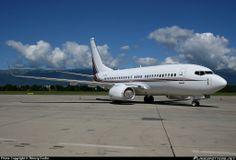 LX-GVV Globalny Jet Luksemburg Boeing 737-7BC (BBJ)