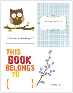My Owl Barn: Printable Thanksgiving Cards And Tags