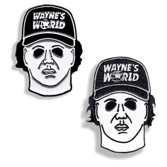 MIKE MYERS PIN & PATCH COMBO – DRTY