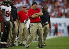 """fire schiano   Bucs coach Greg Schiano, the man who demanded his team get its """"toes ..."""