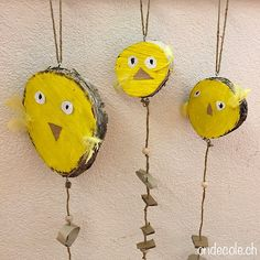 Preschool Crafts, Easter Crafts, Kindergarten Portfolio, Elderly Activities, Balloons, Projects To Try, Birds, Crafty, Decoration