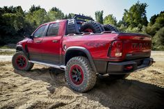 The Off-Road-Ready Ram Rebel TRX Concept Is Nearly a Hellcat Pickup