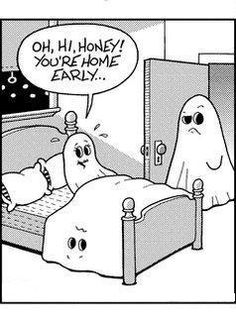 Ghost cheaters.