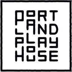 Portland Playhouse #typography #love Repost via @fromupnorth #blackandwhite #letters #portland #welovetype #typedesign #portland