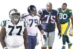 Carolina's Byron Bell, Seattle's Red Bryant, New England's Vince Wilfork and Green Bay's B.J. Raji...
