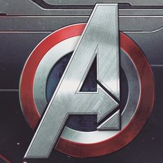 Avengers logo as background screen for Apple Watch. If you