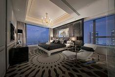 Meglepő design a hálószobában Modern Master Bedroom, Modern Bedroom Design, Small Room Bedroom, Master Bedroom Design, Trendy Bedroom, Contemporary Bedroom, Bedroom Colors, Bedroom Decor, Bedroom Designs