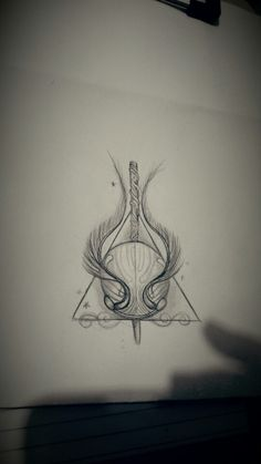 Harry potter tattoo sketch
