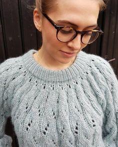 Image of Bløde Sving Lace Knitting Patterns, Crochet Clothes, Knit Crochet, Crochet Necklace, Inspiration, Knit Sweaters, Cardigans, Image, Design