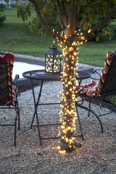 A Back Yard Sitting Area | Laurie Jones Home