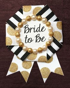 bride to be badge the kate by badgelorette on Etsy