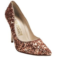 E! Live from the Red Carpet Sequin Point Toe Pump #VonMaur