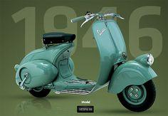 1946 Vespa Scooter