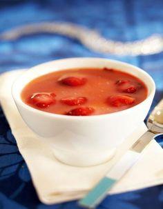 Helpoista helpoin raparperi-mansikkakiisseli | Keitot, kiisselit ja kastikkeet | Pirkka