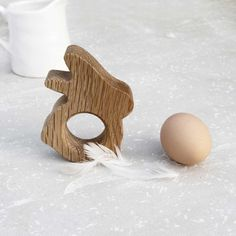 Baby Bunny Egg Cup