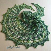 #crochet, free pattern, shawl, wrap, #haken, gratis patroon (Engels), half ronde omslagdoek, Scheepjes Stardust, #haakpatroon