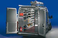 Van Racking Systems, Scale, Htm, Vans, Tools, Van, Shelves, Van Interior, Atelier