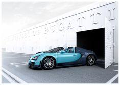 Bugatti Veyron Grand Sport Vitesse Legend Jean-Pierre Wimille Revealed