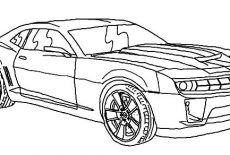 Bumblebee Car Chevy Camaro Coloring Pages Best Place To Color Chevy Camaro Camaro Chevy