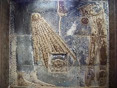 https://flic.kr/p/7rpPED | Goddess Nut at Ptolemaic temple of Dendera | Nut swallows Re (the Sun) every evening, and bore again every morning