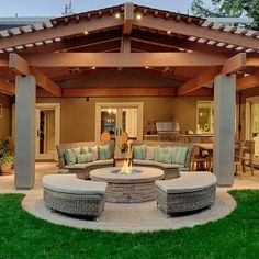 50 Awesome Yard and Outdoor Kitchen Design Ideas