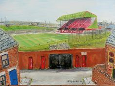 The Oval. Home to Glentoran FC