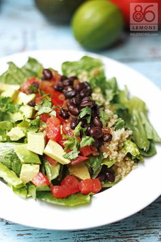 Looking for more umph for your lettuce pile? Transform it into a California Chipotle Chop Salad.