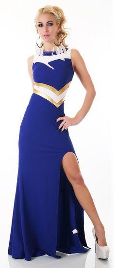 Modré společenské šaty High Neck Dress, Dresses, Fashion, Turtleneck Dress, Vestidos, Moda, Fashion Styles, The Dress, Fasion