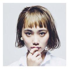 HAIR STYLIST▶bloc de gemmes/Norihisa Iwai #CYAN #CYANMAG #HAIR #HAIRSALON #BOBHAIR #JAPANESEGIRL #ボブ #髪型 #ヘアカタログ