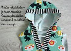 Kummilahja vol.2 + DIY Nappilista huppariin - Punatukka ja kaksi karhua Dressmaking Course, Vol 2, Winter Hats, Diy, School, Tutorials, Patterns, Dressmaking, Bricolage