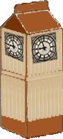 Europaweek. Engeland. Big Ben ijsstokjes knutselen. www.provincieantwerpen.be/europadirect