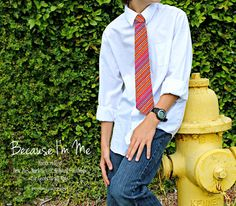 red dotted and striped necktie available for men and boys, bow ties also available in same print