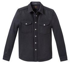 Lee / Black Wool Overshirt