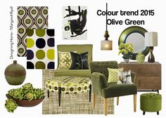 Designing Home: 10 reasons to love Olive Green for 2015