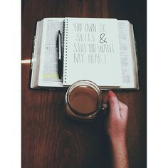 coffee and the word.