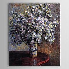 Beroemde olieverfschilderij Asters van Claude Monet – EUR € 82.49